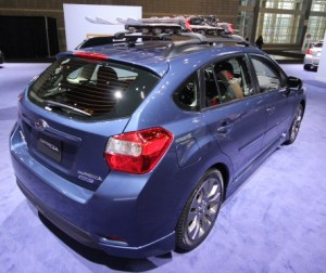 2013 Subaru Impreza and 2013 Subaru Outback