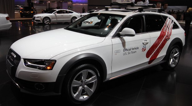2013 Audi allroad U.S. Ski Team Official Vehicle