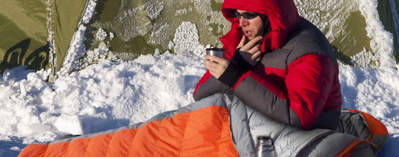 Sleeping bags for deep winter camping