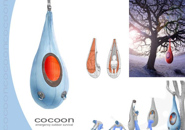 22 unusual sleeping bags Ideas for hanging backpacks