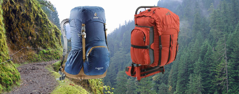 internal vs external frame backpack - External Frame Hiking Backpack