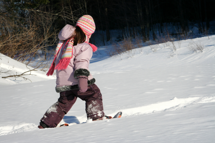 Fitting Kids Snowshoes